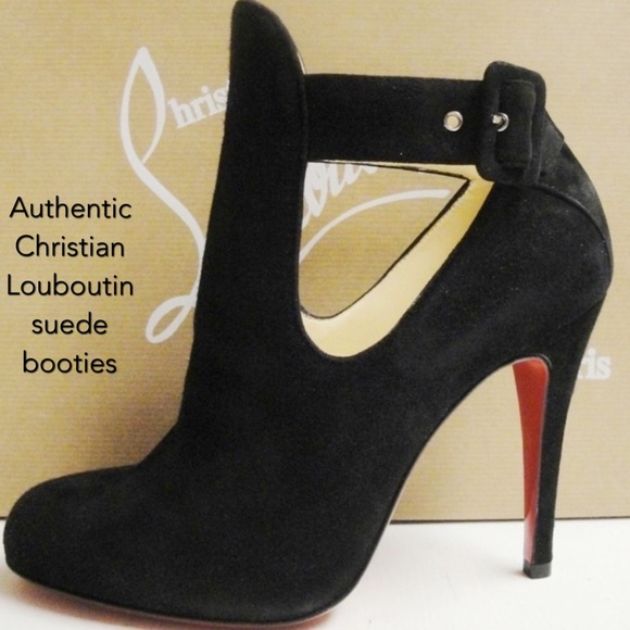outlet store 80720 43638 Authentic Christian Louboutin Demina suede bootie